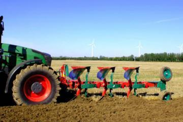 Kverneland LD-FR front mounted reversible plough