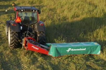 Kverneland Taarup 2624 rear mounted disc mower