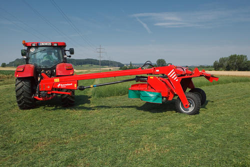 Kverneland Taarup 4328 LT trailed disc mower conditioner