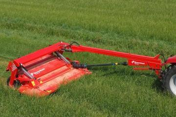 Kverneland Taarup 4332 LR trailed disc mower conditioner