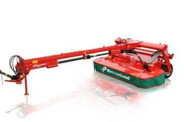Kverneland Taarup 4336 CR trailed disc mower conditioner
