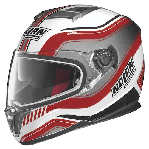 Nolan N86 full-face motorcycle helmet