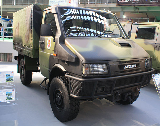 Zastava New Turbo Rival 40.12 HKWM off-road special vehicle