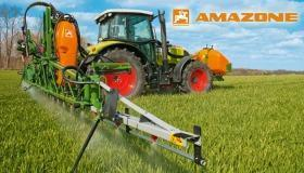Amazone UF mounted sprayer with integrated front tank