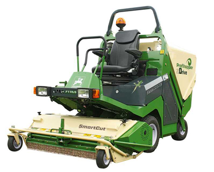 Amazone Profihopper mower and scarifier