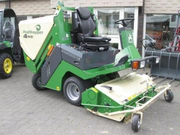 Amazone Profihopper 4WDi mower and scarifier