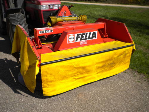 Fella KM 230 FP front drum mover