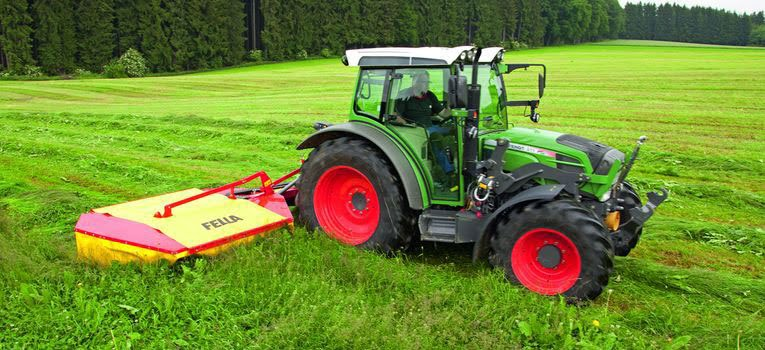 Fella KM 167 rear drum mower