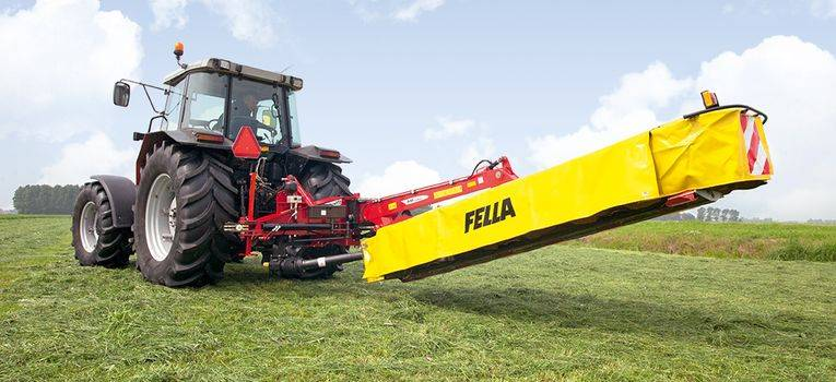 Fella SM 4590 TL rear disc mower