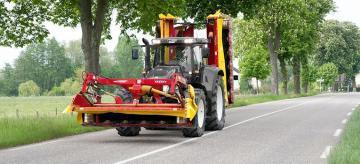 Fella SM 911 TL mower combination