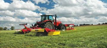 Fella SM 991 TL mower combination
