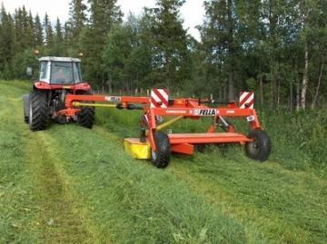 Fella SM 313 TRANS KC trailed mower