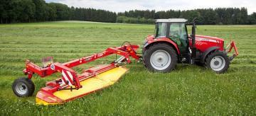 Fella SM 401 TRANS RC trailed mower