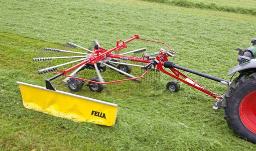 Fella TS 456 T single-rotor rake