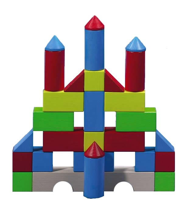 HABA Colored Building Blocks