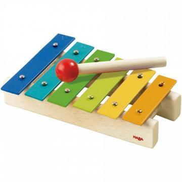 HABA Musical instruments metallophone toy