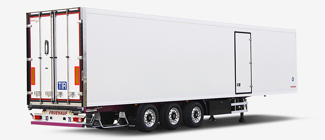 Otokar Container Carrier truck trailer