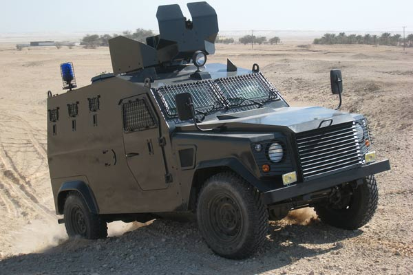 Otokar Armoured Patrol Vehicle