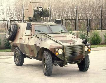 Otokar Akrep special attack/defense vehicle