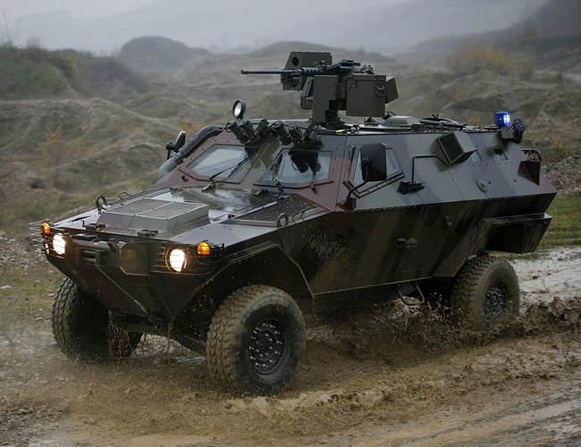 Otokar Cobra Command / Control Vehicle