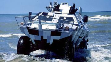 Otokar Cobra Amphibious Vehicle
