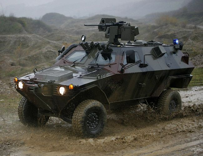 Otokar Cobra Closed Turret Personnel Carrier