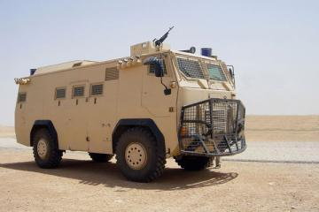 Otokar Armored Internal Security Vehicle