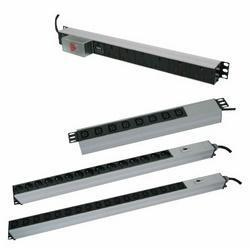 Canovate 1U Vertical  Aluminum 12 way Basic PDU