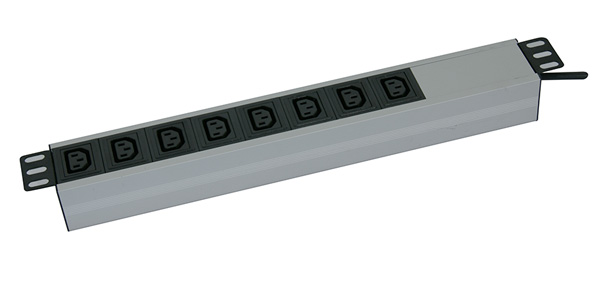 "Canovate 1,5U 19"" Aluminum 8 way Basic PDU"