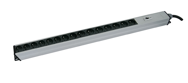 Canovate 1,5U Vertical  Aluminum 14 way Protected PDU