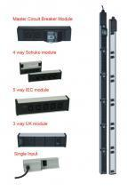 Canovate Aluminum Housing with 6 Module Capacity PDU