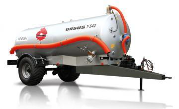 Ursus T-542 liquid manure spreader