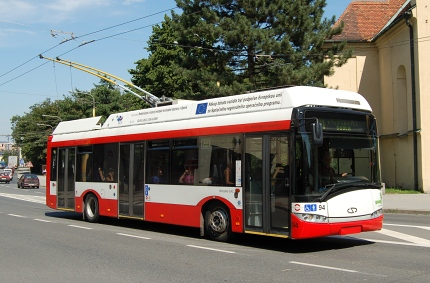 Solaris Trollino 12 trolley