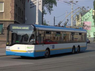 Solaris Trollino 15 trolley