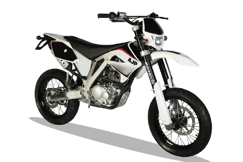 AJP PR4 SuperMoto off-road motorcycle