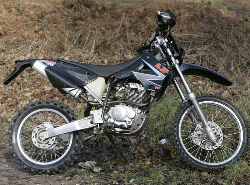 AJP PR4 Enduro Special Edition off-road motorcycle