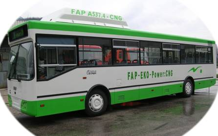 FAP A-537.4 CNG city bus