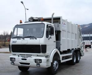 FAP 1828 RB/38.5 waste collector truck