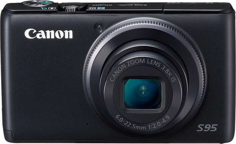 Canon PowerShot S95 10 MP Digital Camera