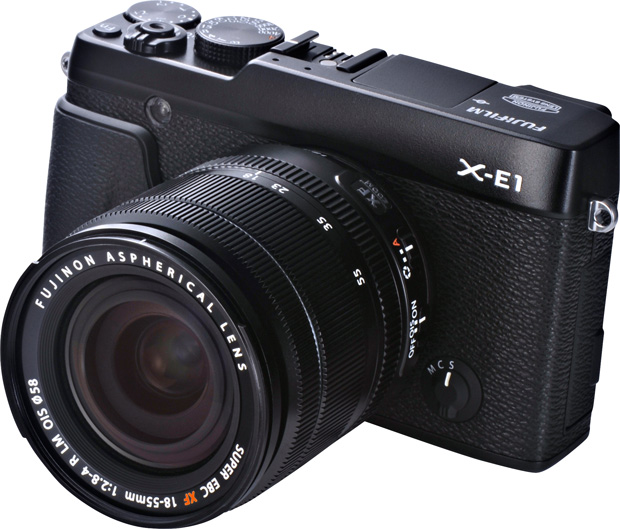 Fujifilm X-E1 16.3MP Compact System Digital Camera
