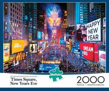 Buffalo Games Times Square 2000 Piece Puzzles