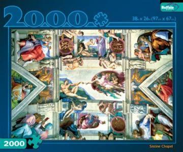 Buffalo Games Sistine Chapel 2000 Piece Puzzles