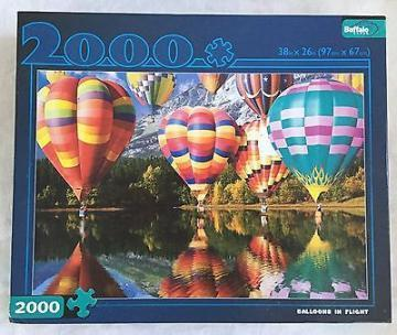 Buffalo Games Balloons in Flight 2000 Piece Puzzles