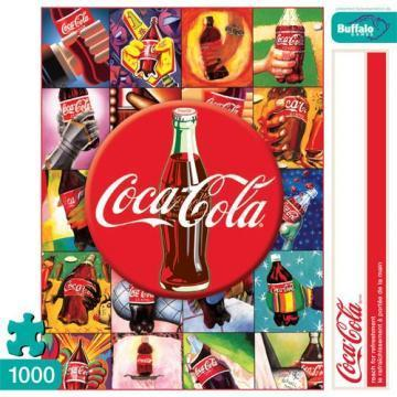 Buffalo Games Reach for Refreshment 1000 Pieces Coca Cola Puzzles