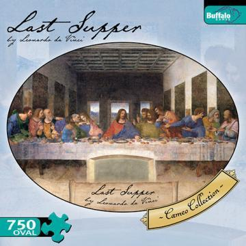 Buffalo Games Last Supper 750 Pieces Oval Puzzles