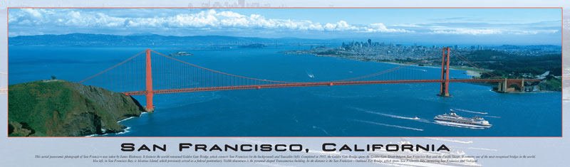 Buffalo Games San Francisco 750 Pieces Panoramic Puzzles