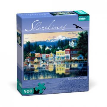 Buffalo Games Lakeside Afternoon 500 Pieces Shorelines Puzzles