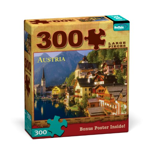 Buffalo Games Austria 300 Pieces Travel Puzzles