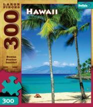 Buffalo Games Hawaii 300 Pieces Travel Puzzles