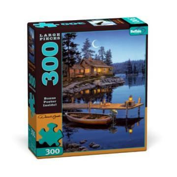 Buffalo Games Cresent Moon 300 Pieces Large Puzzles